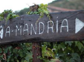 A Mandria, Corte