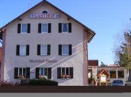Hotel Gasthof Gaum, Biberach an der Riß