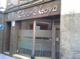 Hostal cafeteteria goya, Barbastro