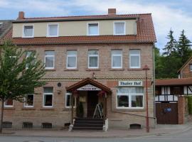 Pension Thaler Hof, Thale