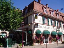 Hôtel Bar Des Vosges, Munster