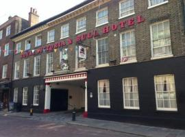 The Royal Victoria & Bull Hotel, Rochester