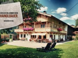 Ferienhof Haindlbauer, Kirchberg in Tirol