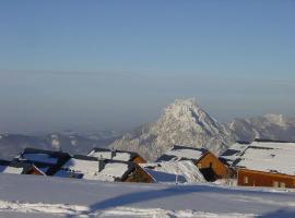 Alpen Berghütte Sonnstein Panorama