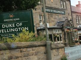 Duke Of Wellington - Residential Country Inn, Matlock