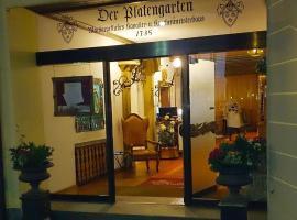 Der Platengarten, Ansbach