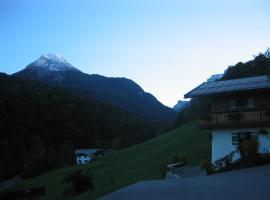 Alpenferienwohnungen Wiesenlehen, Bischofswiesen