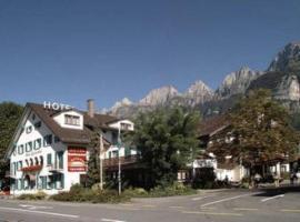 Hotel Churfirsten, Walenstadt