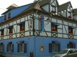 Hôtel Restaurant Aux Deux Roses, Neuf-Brisach