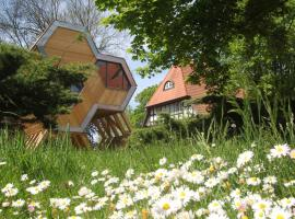 DJH Jugendherberge Beckerwitz mit design|Baumhausdorf, Hohenkirchen