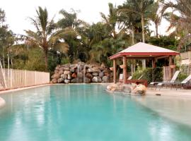 at Boathaven Spa Resort, Airlie Beach