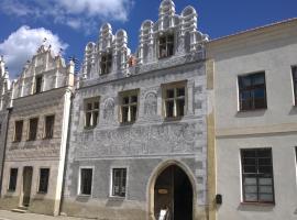 Ubytování U Giordanů, Slavonice