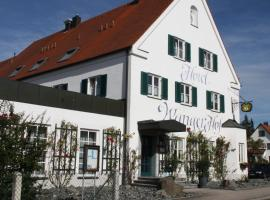 Hotel Gasthaus Wangerhof, اوغسبورغ