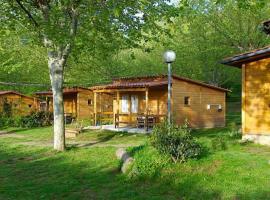 Camping La Vall d'Hostoles, Sant Felíu de Pallarols