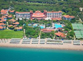 Belconti Resort Hotel, ベレキ