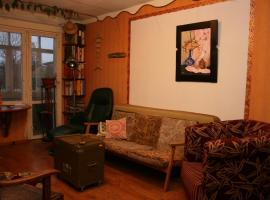 Mixed style artistic apartment, Grobiņa