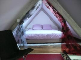 Le Chat Rouge Chambres d'Hôtes de Charme en Alsace, Orbey