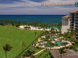 Magnificent Two Bedroom Top Floor Beach Villa with Two Ocean View Lanais, Kapolei