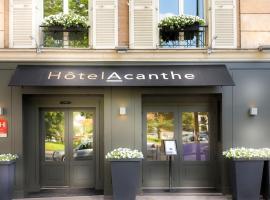 Quality Hotel Acanthe - Boulogne Billancourt, Boulogne-Billancourt