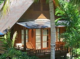 Green Papaya Resort, Praia de Salad