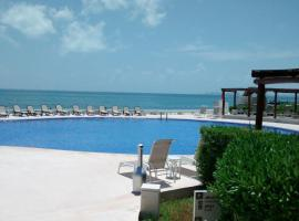 One bedroom condo on the beach at Amara Cancun