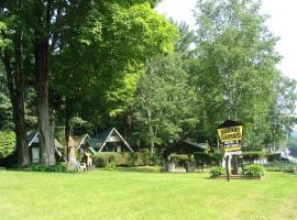 Amber Lantern Efficiency Cottage, Лейк-Джордж