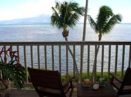 Wavecrest Resort Apt # A-303 on Molokai in Hawaii, Kaunakakai