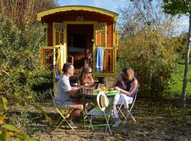 Les Roulottes & Cottages du Moulin, Chenillé-Changé