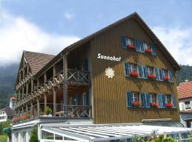 Bildungszentrum Sunnahof, Oberschan