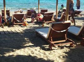 Argolic Strand Camping, Dhrépanon