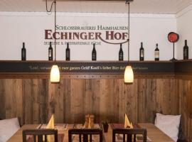 Echinger Hof bei München, Echingas