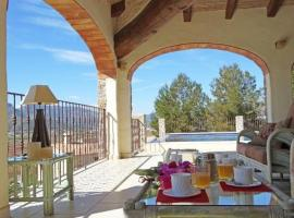 Apartment with garden, pool in Lliber, Lliber