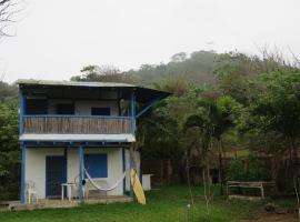 Blue House, Ayampe