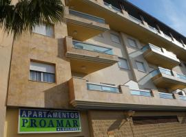 Apartamentos Proamar, Torre del Mar