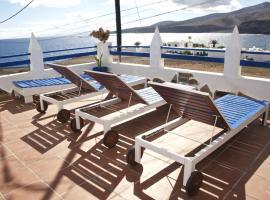 Ventanas de Lanzarote, Playa Quemada
