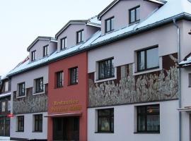 Penzion a restaurace Sklář, Karolinka