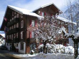 Hotel Des Alpes, Champéry