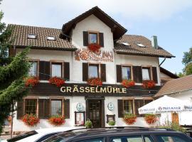 Gasthaus zur Grässelmühle, Sasbach in der Ortenau