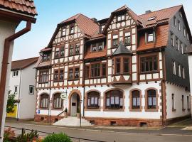 Hotel Zur Hallenburg, Kurort Steinbach-Hallenberg