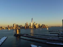 One Bedroom Suite Facing Manhattan Skyline, Jersey City