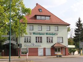 Gasthaus & Hotel Grünhof, Frankfurt Oder