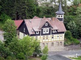 Holiday home Mit Dem Turm 2, Elbingerode