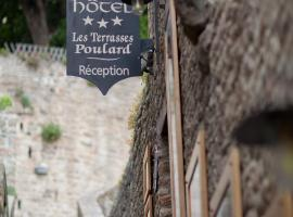 Les Terrasses Poulard, Le Mont Saint Michel
