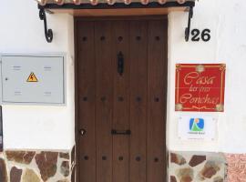 Casa las tres Conchas, Yunquera