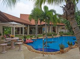 Relaxing Palms Pool Villa 4 Bed, Ban Pong