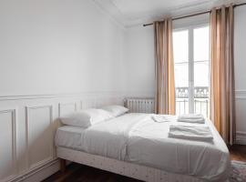 Charming & new Balard Eiffel flat