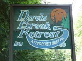 Davis Brook Retreat, Sechelt