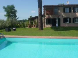 Al Biancalana - Holiday Home with private pool close Lucca (4 persons), San Ginese