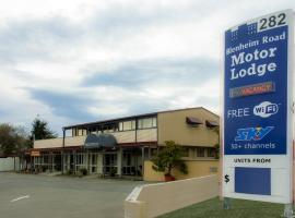 Blenheim Road Motor Lodge, Christchurch