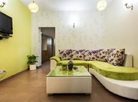 Bright and Green Apartment, New Delhi